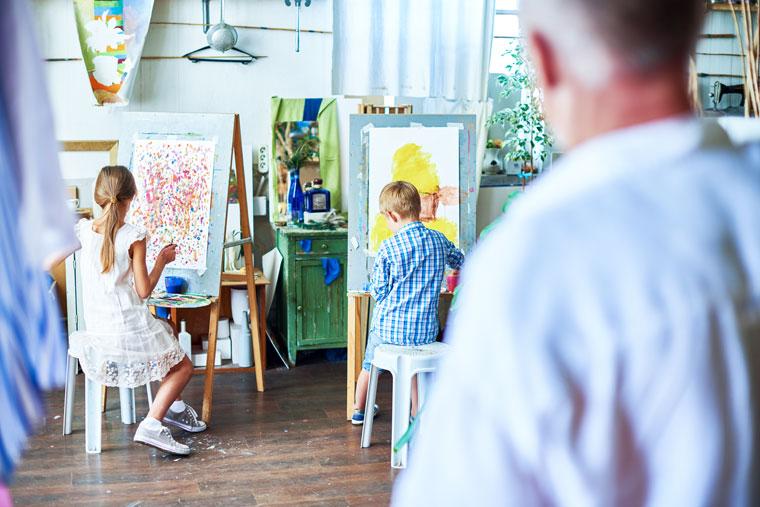 10 incredible benefits kids painting