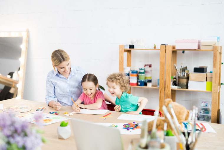 How Fine Art Helps Kids to Express Their Emotions