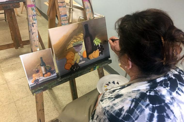 fine art classes orange county