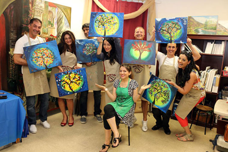 painting for fun workshop orange county